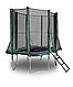 Прямоугольный батут KIDIGO™ 215 х 150 см. с защитной сеткой BT215-150, фото 3