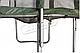 Прямоугольный батут KIDIGO™ 215 х 150 см. с защитной сеткой BT215-150, фото 5