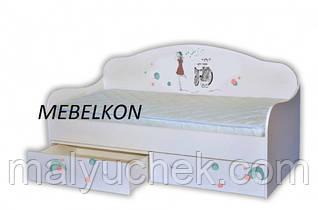 Подростковая кроватка  диванчик Гламур