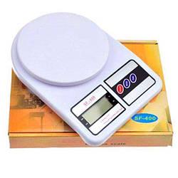 Весы кухонные SF-400 до 7кг+батарейки, кухонні ваги