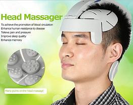 Массажный шлем для головы массажёр Easy Brain Massager, фото 3