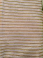 Ткань Полоска беж 150 см хлопок
