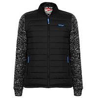 Куртка Lee Cooper Padded Knit Bomber Jacket Mens XXL