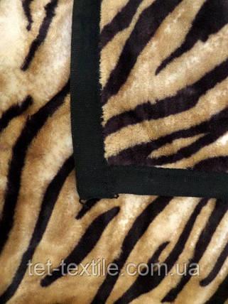 Плед акриловый облегченный True Love Шкура тигра (150x200), фото 2
