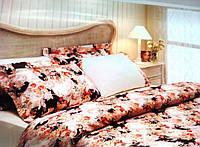 Комплект постельного белья Tivolyo Home VersaI ROSSA Молочный евро