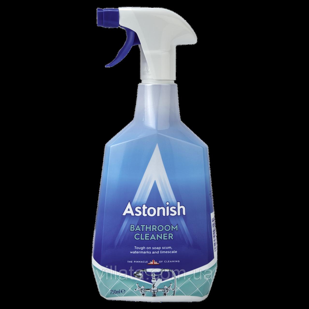 Средство для уборки ванной комнаты Astonish Bathroom средство от налета Астониш