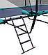 Прямоугольный батут KIDIGO™ 457х305 см. с защитной сеткой + лестница, фото 3