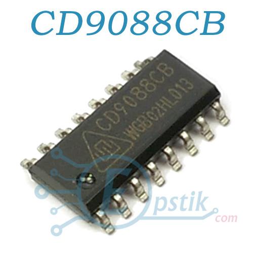 CD9088CB, (TDA7088), Микросхема FM приемник, SOP16