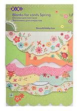 Заготовка для открыток, Spring, 10.2*15,3 см, Zibi, ZB.18216-AF, 907110