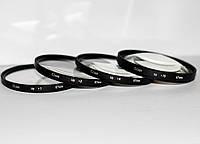 Набор светофильтров - макролинз CLOSE UP +1 +2 +4 +10 диаметром 67mm - 4 штуки