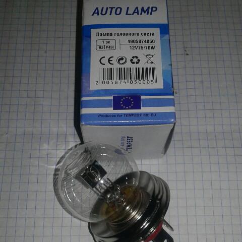 Лампа R 2 12V75/70W P45T Tempest 4905874050
