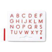 Магнитная доска для изучения больших английских букв от A до Z  Kid O