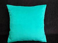 Подушка декоративная 40х40 мята, фото 1