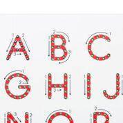 Магнитная доска для изучения больших английских букв от A до Z  Kid O, фото 2