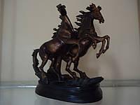 Лошади Пара Под бронзу Статуэтка