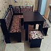 Кухонный уголок Гетьман с раскладным столом и табуретами, фото 2