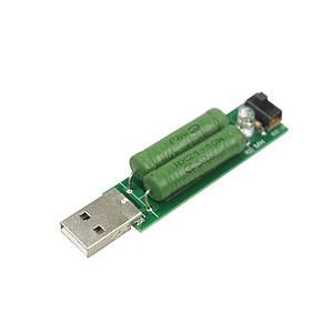 Нагрузочный резистор тестер USB до 2А