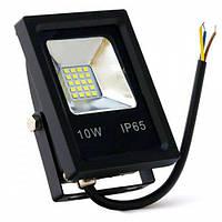 Светодиодный LED прожектор BIOM S4-SMD-10-Slim 10W 6500К 220V 900Lm.
