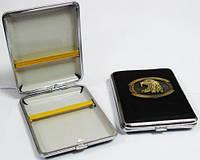 Портсигар кожаный подарочный Орел Код:15384947