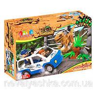 Конструктор JDLT Динозавр и Машина, 28 дет., 5250, 006190
