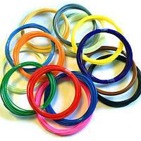 Набор пластика для 3D ручки 15 цветов по 10 м, фото 1