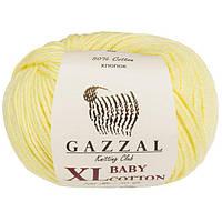 Gazzal cotton Baby XL - 3413 лимонний