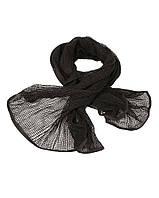 Шарф-сетка black
