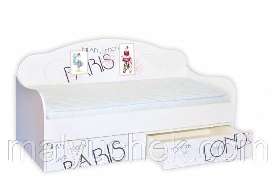 Кроватка диванчик Стильный