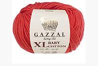 Gazzal cotton Baby XL - 3418 червоно кораловий