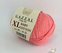 Gazzal cotton Baby XL - 3435 світлий корал