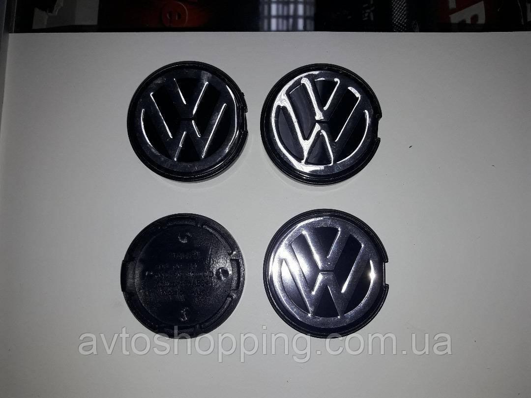 Ковпачки, заглушки на диски Volkswagen Фольксваген Golf 56 мм / 52 мм 1j0601171