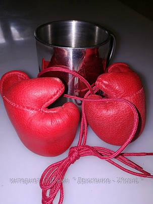 Кожаные сувенирные перчатки , фото 2
