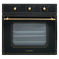 Духовой шкаф электрический Minola OE 66134 BL RUSTIC GLASS