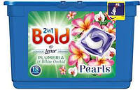 Капсулы BOLD 2IN1 PLUMERIA AND WHITE ORCHID 18 WASHES