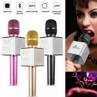 Караоке Микрофон StreetGo Q7, беспроводной микрофон, микрофон для смартфона