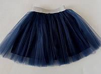 Юбка-пачка из евро-фатина. Синяя., фото 1
