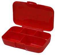 Buchsteiner таблетница-контейнер PillMaster Klickboxes red, фото 1