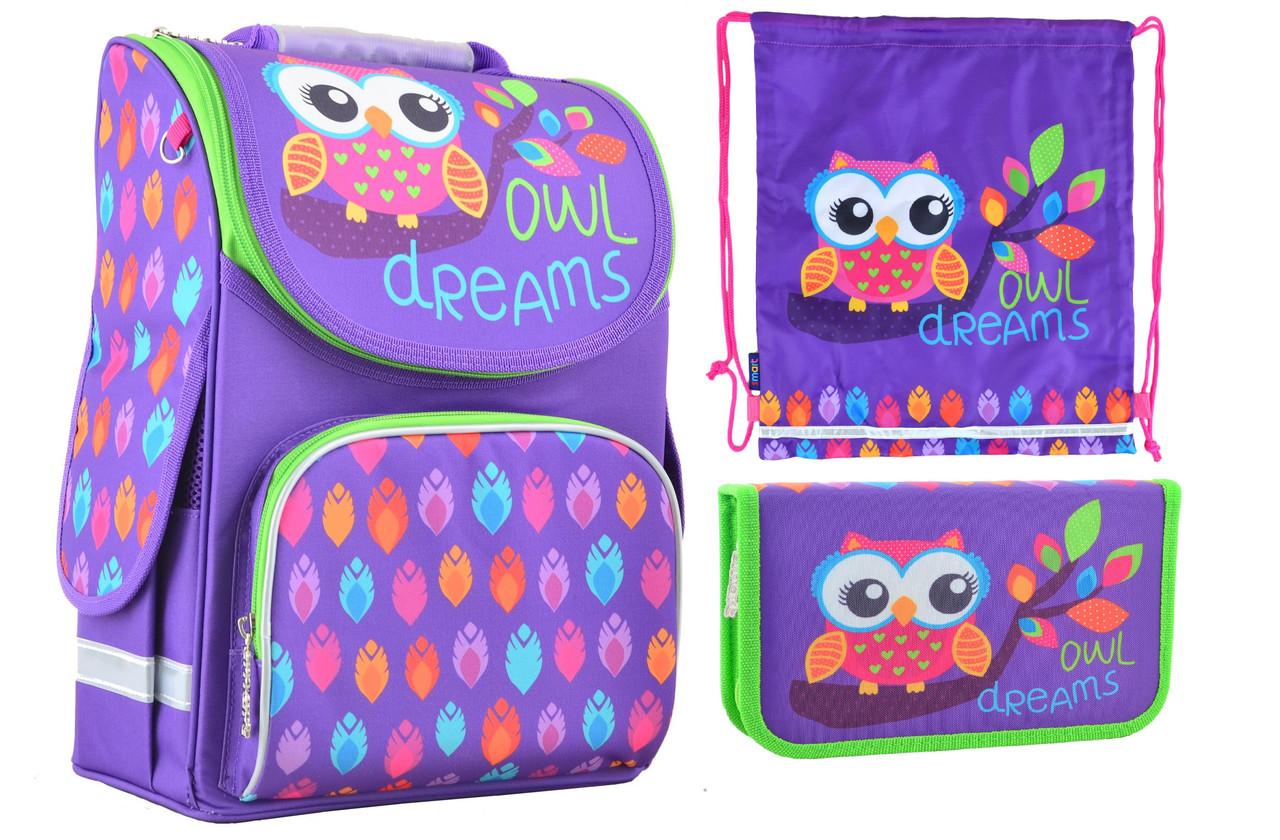 d3b2fcd9ca71 Набор 1 вересня Smart для девочки рюкзак 554458, пенал 531658, сумка 555238  - Интернет