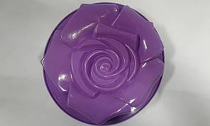 Форма силиконовая   роза d-28
