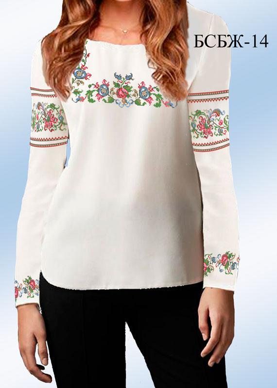Вышитая блуза (заготовка)