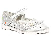 """Туфли """"EeBb"""" №D 66 silver (р.26-31).Оптом."""