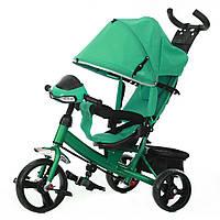 Детский трехколесный велосипед TILLY TRIKE T-347 (Бирюзовый)