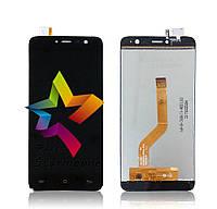 Дисплей (Модуль) для мобильного телефона Cubot Note Plus, черный, с тачскрином