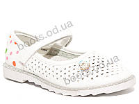 """Туфли """"EeBb"""" №D 66 white (р.26-31).Оптом."""
