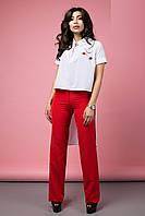 Женские брюки прямого кроя Florense (42–52р) в расцветках, фото 1