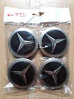 Колпачки, заглушки на диски Mercedes-Benz  Мерседес 60 мм / 56 мм