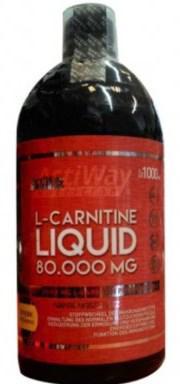 ActiWay L-Carnitine Liquid 80000mg 1000 ml