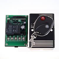 Одно-канальный универсальный дистанционный выключатель на 12 или 24 Вольт 40А с регулируемым таймером