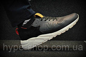 Мужские серые кроссовки New Balance 580 | Люкс Реплика