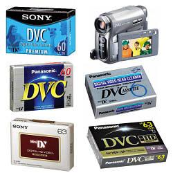 Видеокассета MiniDV для видеокамер